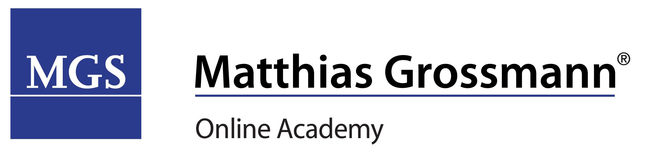 Matthias Grossmann® – Online Academy